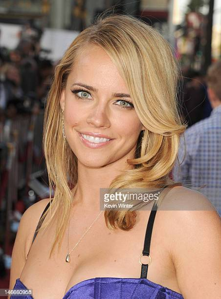 Actress Jessica Barth arrives at the Premiere of Universal Pictures' Ted sponsored in part by AXE Hair at Grauman's Chinese Theatre on June 21 2012...
