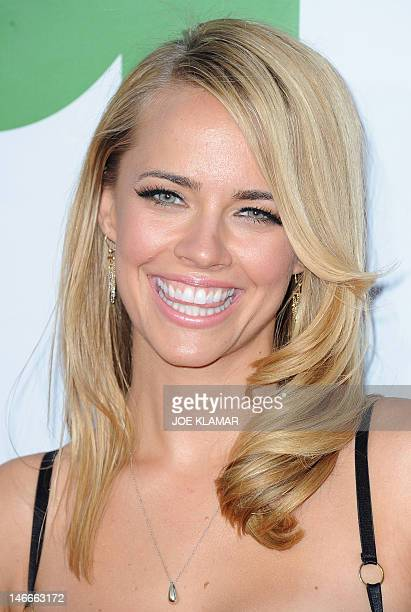 Actress Jessica Barth arrives for the movie premiere TED presented by Universal Pictures and MRC at Grauman's Chinese theatre on June 21 2012 in...
