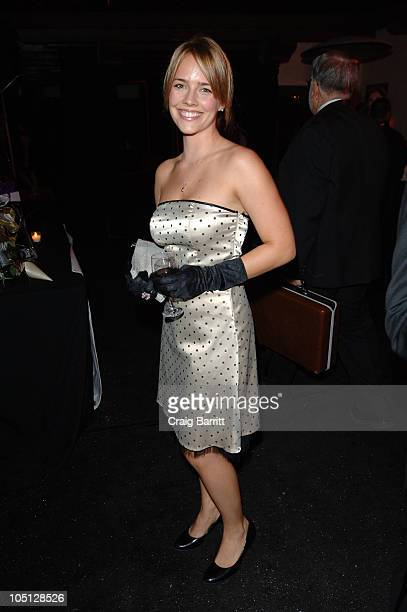 Actress Jessica Barth attends An Evening Affair presented by Night Vision at a private residence on October 9 2010 in Beverly Hills California