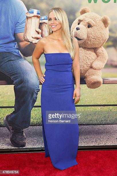 Actress Jessica Barth attends the New York Premiere of Ted 2 at the Ziegfeld Theater on June 24 2015 in New York City