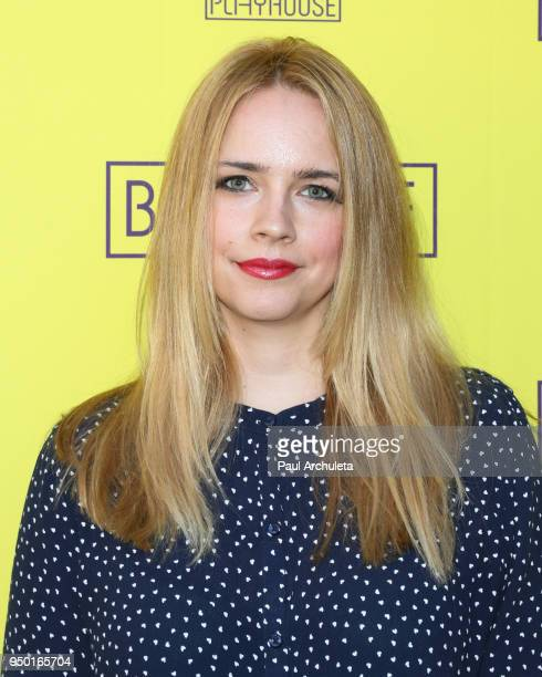 Actress Jessica Barth attends the opening night of Belleville at the Pasadena Playhouse on April 22 2018 in Pasadena California