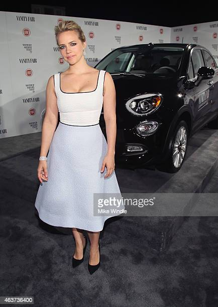 Actress Jessica Barth attends Vanity Fair and FIAT celebration of Young Hollywood hosted by Krista Smith and James Corden to benefit the Terrence...