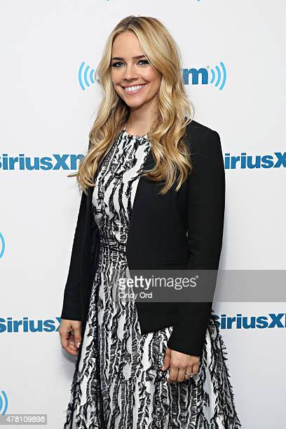 Actress Jessica Barth visits the SiriusXM Studios on June 22 2015 in New York City