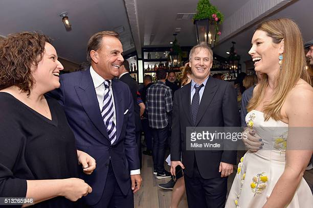 Actress Jessica Biel and guests attend the grand opening of Au Fudge presented by Amazon Family on March 1 2016 in West Hollywood California
