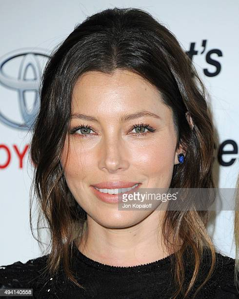 Actress Jessica Biel arrives at Environmental Media Association Hosts Its 25th Annual EMA Awards Presented By Toyota And Lexus at Warner Bros Studios...