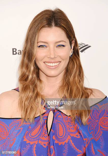 Actress Jessica Biel arrives at the 2016 Film Independent Spirit Awards on February 27 2016 in Santa Monica California