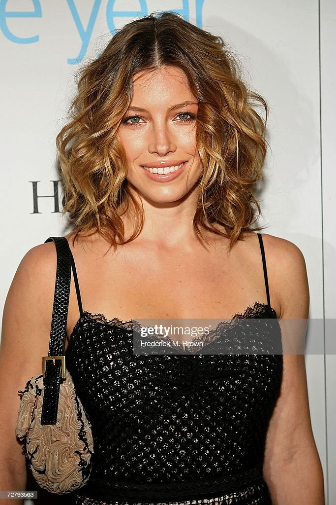 Actress Jessica Biel arrives at the Hollywood Life magazine's 6th Annual Breakthrough Awards held at Henry Fonda Music Box Theatre on December 10, 2006 in Hollywood, California.