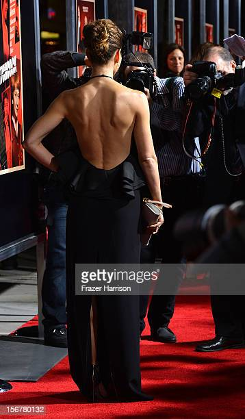 Actress Jessica Biel arrives at the Premiere Of Fox Searchlight Pictures' 'Hitchcock' at AMPAS Samuel Goldwyn Theater on November 20 2012 in Beverly...
