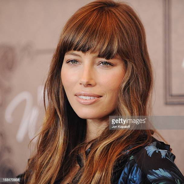 Actress Jessica Biel arrives at the Variety's 4th Annual Power Of Women Event Presented By Lifetime at the Beverly Wilshire Four Seasons Hotel on...