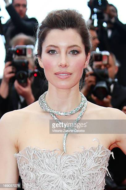 Actress Jessica Biel attends 'Inside Llewyn Davis' Premiere during the 66th Annual Cannes Film Festival at Palais des Festivals on May 19, 2013 in...