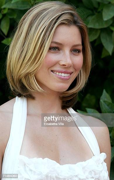 Actress Jessica Biel attends the 36th Giffoni Film Festival on July 19 2006 in Giffoni Italy