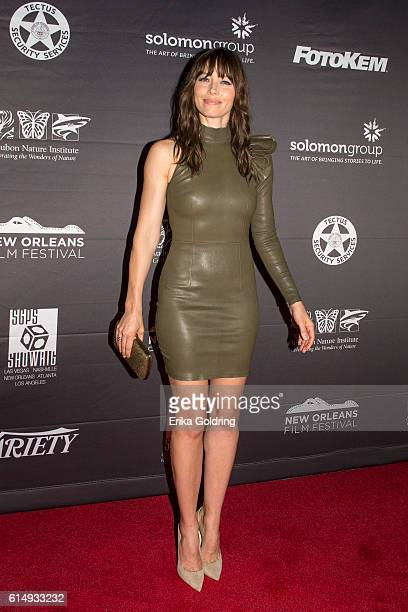 Actress Jessica Biel attends 'The Book of Love' premiere during the 2016 New Orleans Film Festival at Entergy Giant Screen Theater on October 15 2016...
