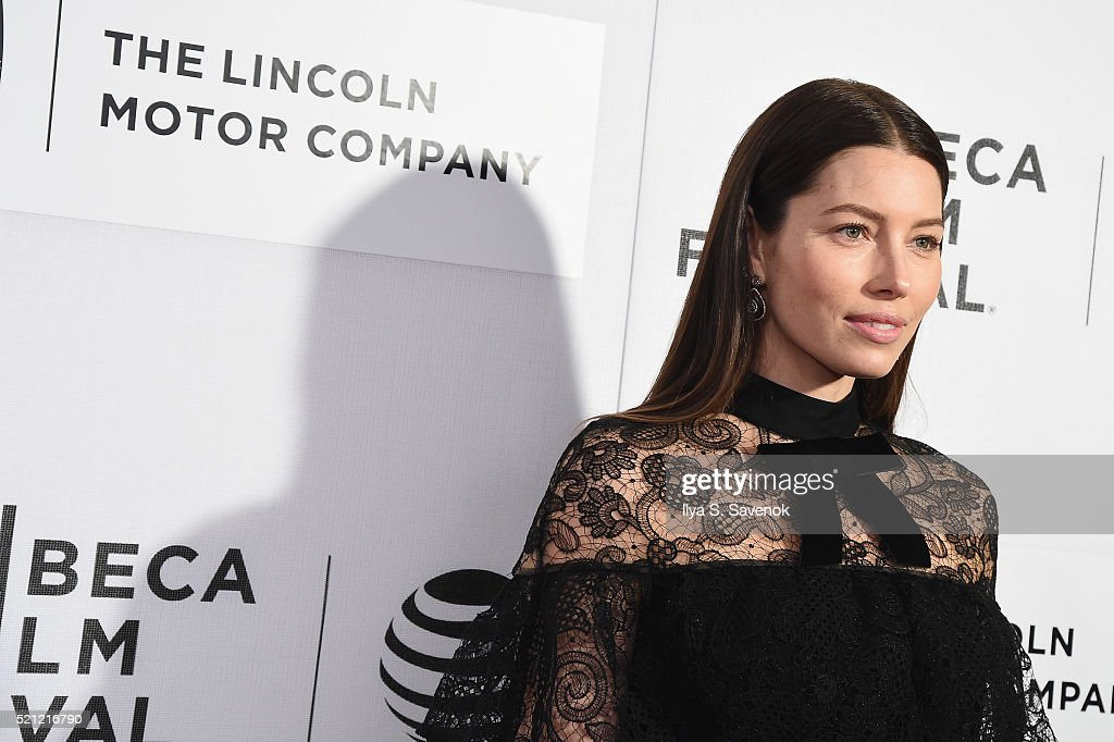 Actress Jessica Biel attends 'The Devil And The Deep Blue Sea' Premiere during 2016 Tribeca Film Festival at BMCC John Zuccotti Theater on April 14, 2016 in New York City.