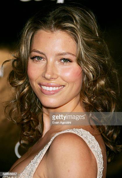Actress Jessica Biel attends the grand opening of Esquire Downtown where she was announced as Esquire Magazine's Sexiest Woman Alive on October 06...