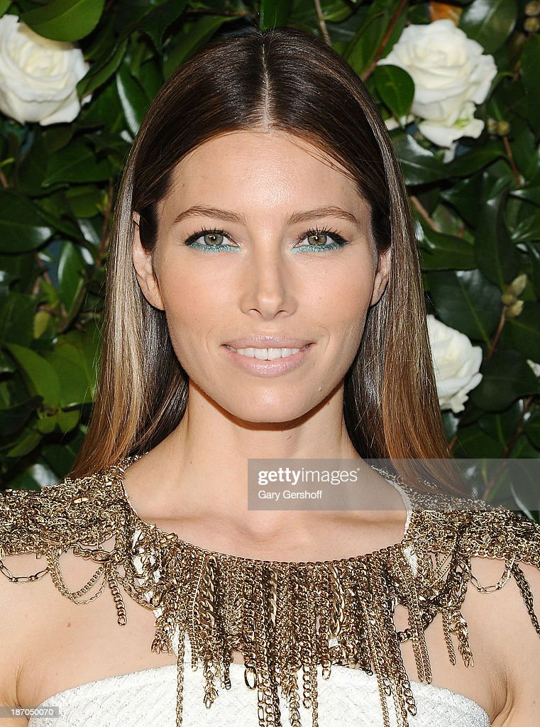 Actress Jessica Biel attends the Museum of Modern Art 2013 Film benefit - A Tribute To Tilda Swinton on November 5, 2013 in New York City.