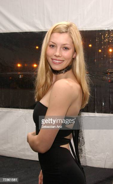 Actress Jessica Biel attends the Westside Ballet 2002 Bravo Awards March 09 2002 in Los Angeles CA