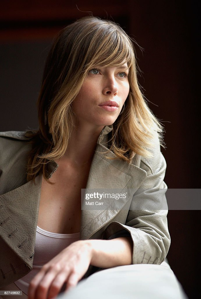 Actress Jessica Biel from the film 'Easy Virtue', poses for a portrait during the 2008 Toronto International Film Festival on September 9, 2008 in Toronto, Canada.