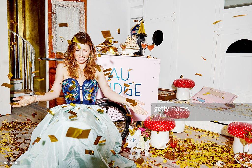 Jessica Biel, C Magazine, May 1, 2016 : News Photo