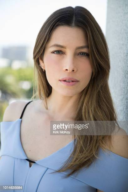 Actress Jessica Biel is photographed for Los Angeles Times on April 28 2018 in Beverly Hills California PUBLISHED IMAGE CREDIT MUST READ Kirk...