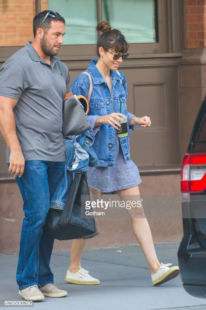 Actress Jessica Biel is seen in Tribeca on August 10 2017 in New York City