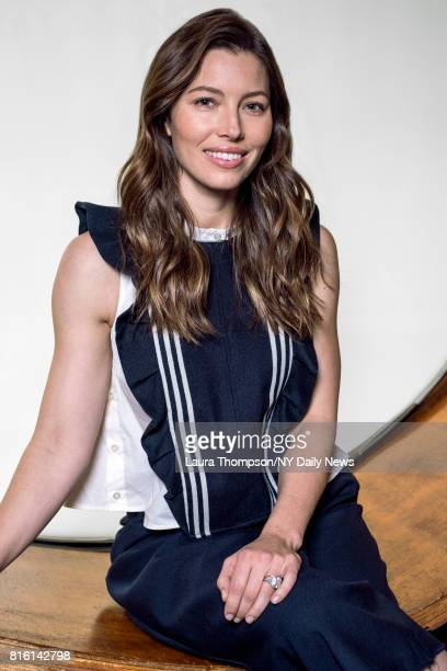 Actress Jessica Biel photographed for NY Daily News on April 14 in New York City