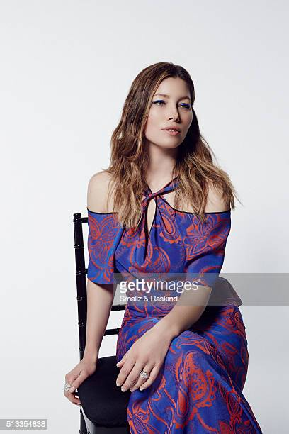 Actress Jessica Biel poses for a portrait at the 2016 Film Independent Spirit Awards on February 27 2016 in Santa Monica California