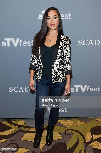 Actress Jessica Camacho attends 'Sleepy Hollow' event during SCAD aTVfest 2016 Day 3 at the Four Seasons Atlanta Hotel on February 6 2016 in Atlanta...