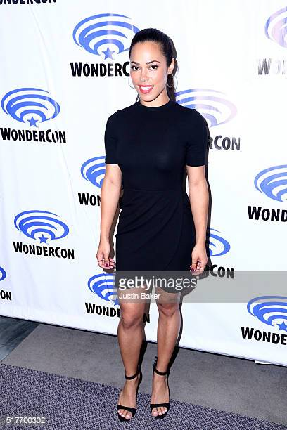 Actress Jessica Camacho attends the Sleepy Hollow panel on day 2 of WonderCon 2016 at Los Angeles Convention Center on March 26 2016 in Los Angeles...
