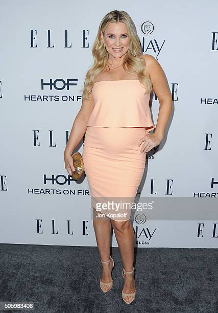 Actress Jessica Capshaw arrives at ELLE's 6th Annual Women In Television Dinner at Sunset Tower Hotel on January 20 2016 in West Hollywood California