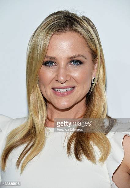 Actress Jessica Capshaw arrives at the #TGIT Premiere Event hosted by Twitter at Palihouse Holloway on September 20 2014 in West Hollywood California