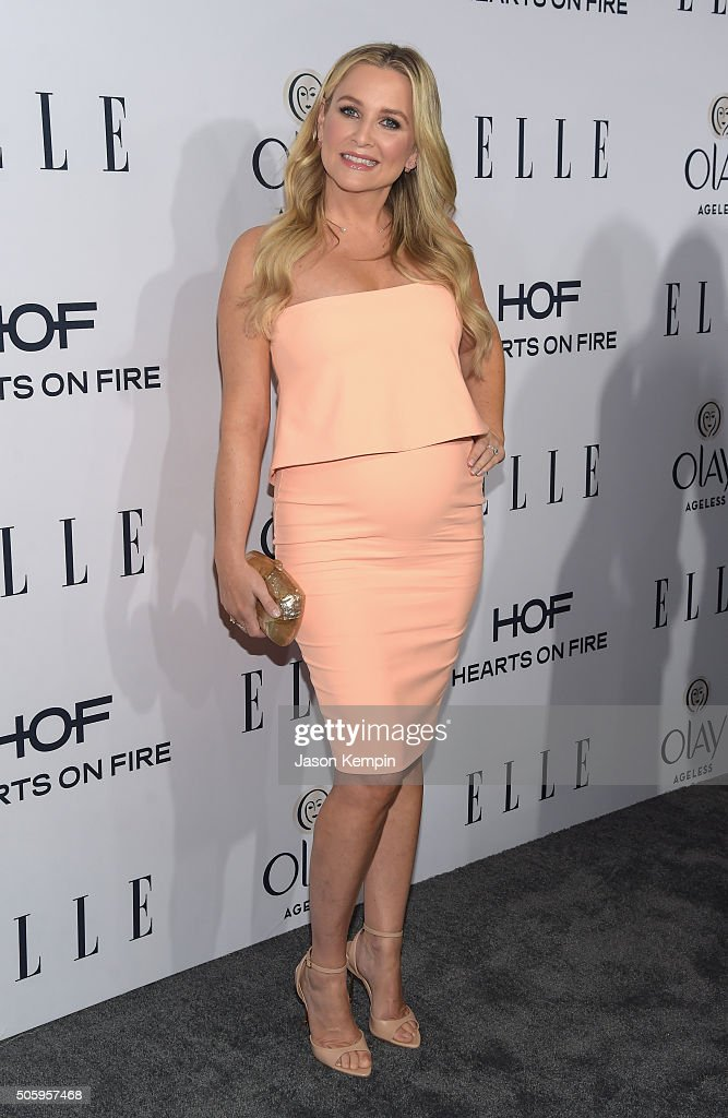Actress Jessica Capshaw attends ELLE's 6th Annual Women In Television Dinner at Sunset Tower Hotel on January 20, 2016 in West Hollywood, California.
