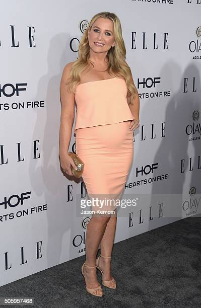Actress Jessica Capshaw attends ELLE's 6th Annual Women In Television Dinner at Sunset Tower Hotel on January 20 2016 in West Hollywood California