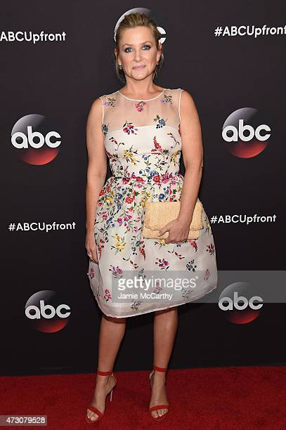 Actress Jessica Capshaw attends the 2015 ABC Upfront at Avery Fisher Hall Lincoln Center on May 12 2015 in New York City