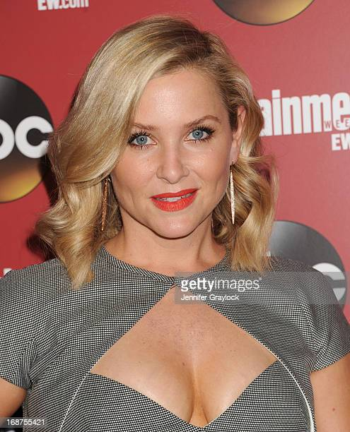 Actress Jessica Capshaw attends the Entertainment Weekly ABC 2013 New York Upfront Party at The General on May 14 2013 in New York City