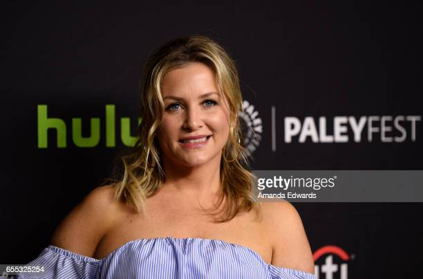 Actress Jessica Capshaw attends The Paley Center For Media's 34th Annual PaleyFest Los Angeles 'Grey's Anatomy' screening and panel at the Dolby...