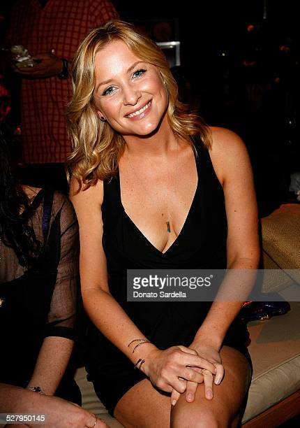 Actress Jessica Capshaw attends the Stella McCartney hosted private screening of HOME a film by Yann ArthusBertrand held at a private residence on...