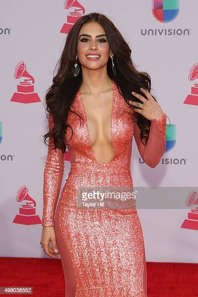Actress Jessica Cediel attends the 16th Annual Latin GRAMMY Awards at the MGM Grand Arena on November 19 2015 in Las Vegas Nevada