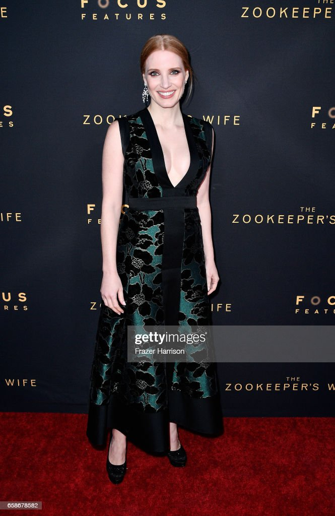 "Premiere Of Focus Features' ""The Zookeeper's Wife"" - Arrivals"