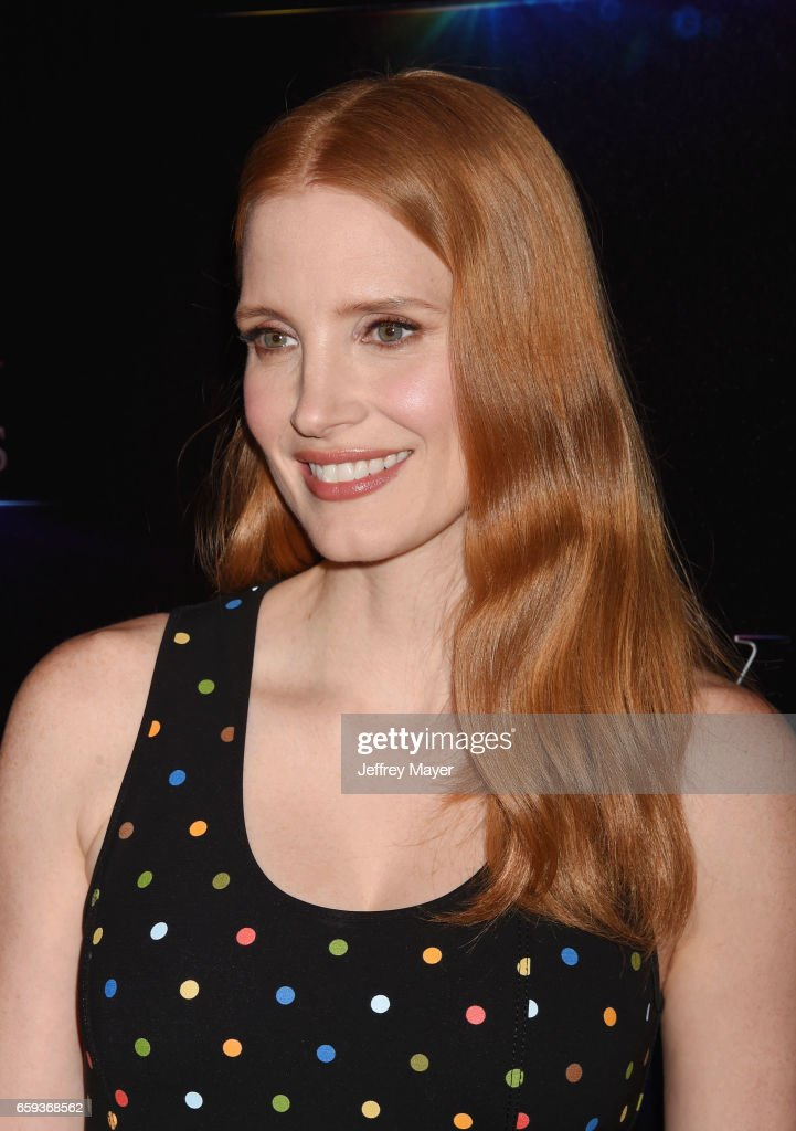 Actress Jessica Chastain at CinemaCon 2017 The State of the Industry: Past, Present and Future and STX Films Presentation at The Colosseum at Caesars Palace during CinemaCon, the official convention of the National Association of Theatre Owners, on March 28, 2017 in Las Vegas, Nevada.