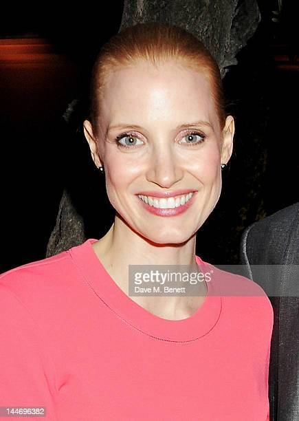 Actress Jessica Chastain attend as The IFP Calvin Klein Collection euphoria Calvin Klein celebrate Women In Film during the 65th Cannes Film Festival...