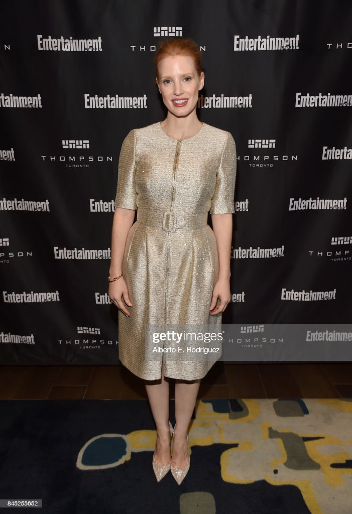 Actress Jessica Chastain attends Entertainment Weekly's Must List Party during the Toronto International Film Festival 2017 at the Thompson Hotel on September 9, 2017 in Toronto, Canada.
