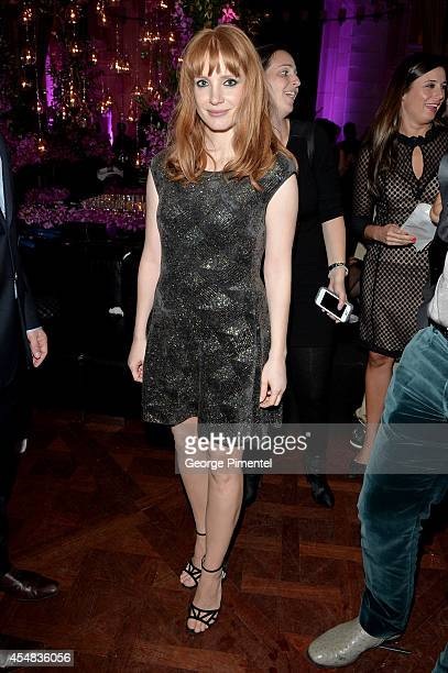 Actress Jessica Chastain attends HFPA InStyle's 2014 TIFF Celebration at the Windsor Arms Hotel on September 5 2014 in Toronto Canada