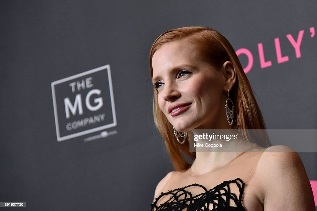 Actress Jessica Chastain attends 'Molly's Game' New York Premiere at AMC Loews Lincoln Square on December 13, 2017 in New York City.