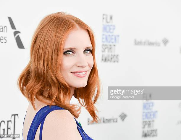 Actress Jessica Chastain attends the 2016 Film Independent Spirit Awards on February 27 2016 in Santa Monica California