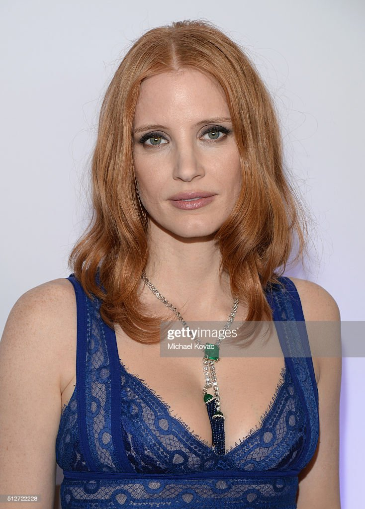 Actress Jessica Chastain attends the 2016 Film Independent Spirit Awards sponsored by Piaget on February 27, 2016 in Santa Monica, California.