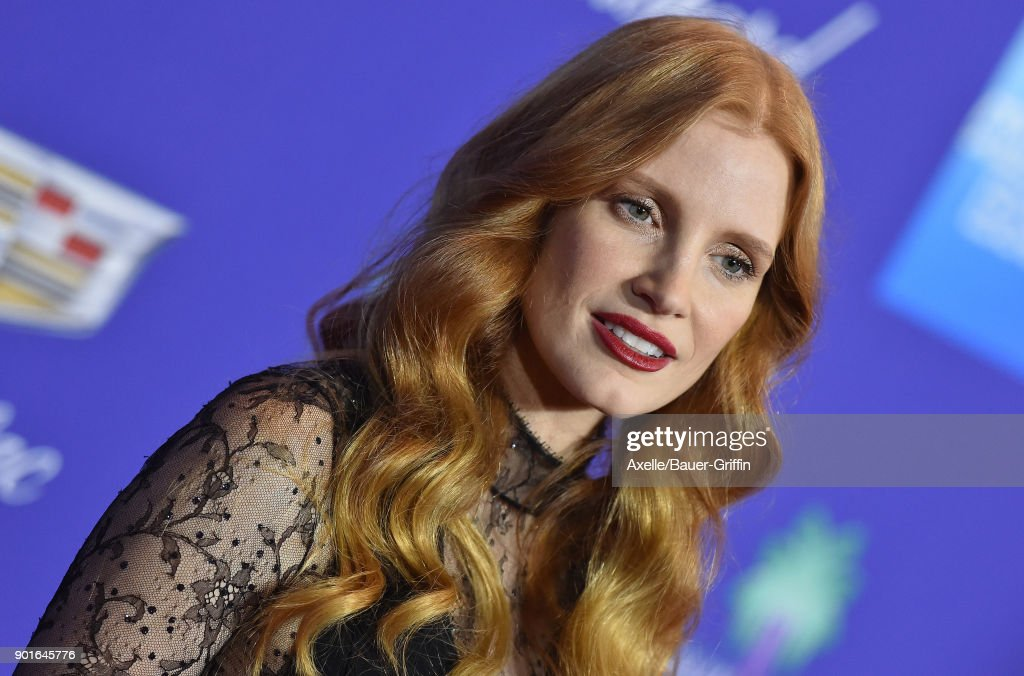 Actress Jessica Chastain attends the 29th Annual Palm Springs International Film Festival Awards Gala at Palm Springs Convention Center on January 2, 2018 in Palm Springs, California.