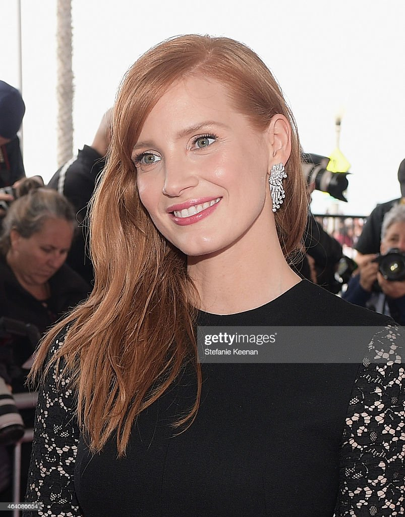 Actress Jessica Chastain attends the 30th Annual Film Independent Spirit Awards at Santa Monica Beach on February 21, 2015 in Santa Monica, California.