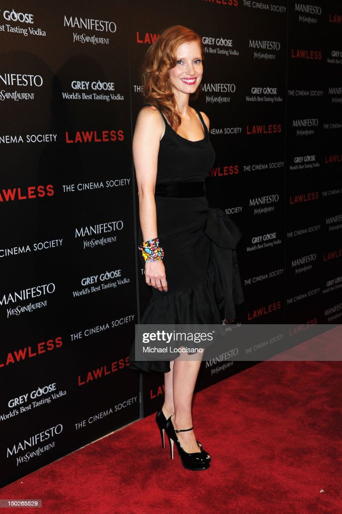 """The Cinema Society & Manifesto Yves Saint Laurent Host A Screening Of The Weinstein Company's """"Lawless"""" - Arrivals : News Photo"""