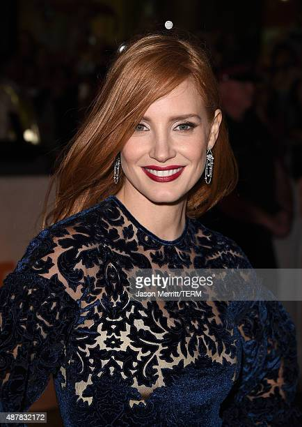 Actress Jessica Chastain attends The Martian premiere during the 2015 Toronto International Film Festival at Roy Thomson Hall on September 11 2015 in...