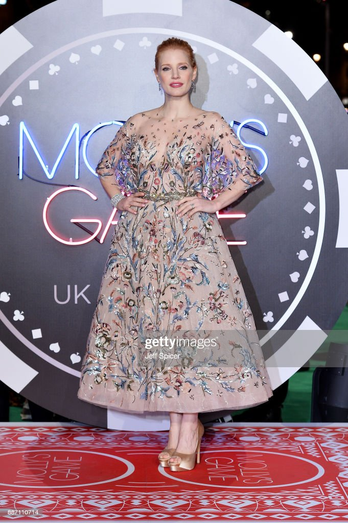 'Molly's Game' UK Premiere - Red Carpet Arrivals